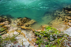 Schone blauwe rivier Royalty-vrije Stock Fotografie