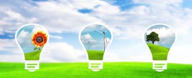 Schone energie Royalty-vrije Stock Afbeelding