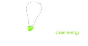 Schone energie stock afbeelding