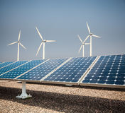 Schone energieachtergrond Royalty-vrije Stock Foto