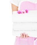 Schone handdoeken Royalty-vrije Stock Afbeelding