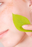 Schone huid Stock Foto