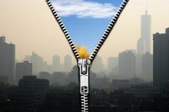 Schone lucht Stock Foto
