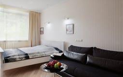 Schone ruimte in Europese stijl Royalty-vrije Stock Fotografie