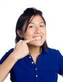 Schone tanden Stock Fotografie