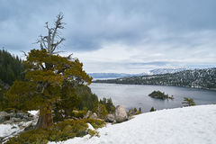 Schone wateren van Meer Tahoe, de V royalty-vrije stock foto