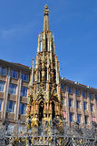 Schoner Brunnen in Nuremberg,Germany,Europe Royalty Free Stock Photography