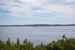 Schoner-Kopf übersehen im Acadia-Nationalpark Lizenzfreies Stockbild