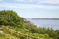 Schoner-Kopf übersehen im Acadia-Nationalpark Stockfoto