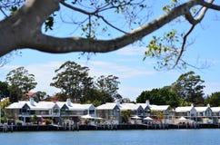 Schongebiet-Bucht Gold Coast Queensland Australien Stockfotografie
