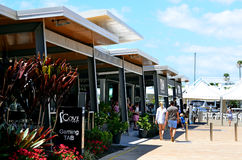 Schongebiet-Bucht Gold Coast Queensland Australien Lizenzfreie Stockfotos