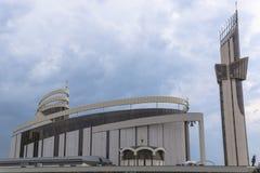 Schongebiet der göttlichen Gnade in Krakau stockfotos