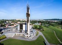 Schongebiet der göttlichen Gnade in Krakau Stockfotografie