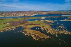 Schongebiet der geschützten Tier-und Pflanzenarten stockfotografie