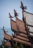Schongebiet der Wahrheit in Pattaya, Thailand Stockfotografie