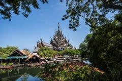 Schongebiet der Wahrheit in Pattaya, Thailand Lizenzfreies Stockbild