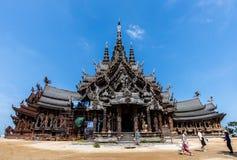 Schongebiet der Wahrheit in Pattaya, Thailand Lizenzfreie Stockfotos