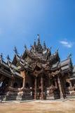 Schongebiet der Wahrheit in Pattaya, Thailand Lizenzfreie Stockfotografie