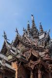 Schongebiet der Wahrheit in Pattaya, Thailand Lizenzfreies Stockfoto