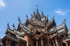 Schongebiet der Wahrheit in Pattaya, Thailand Stockfotos