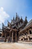 Schongebiet der Wahrheit in Pattaya, Thailand Stockbilder