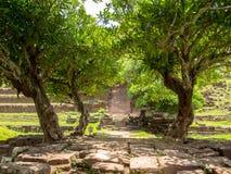 Schongebiet des Bottichs Phou Stockbild