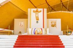 Schongebiet des Heiligen Pio von Pietrelcina Stockfotos