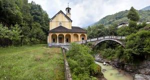 Schongebiet Madonna della Gurva Lizenzfreie Stockbilder