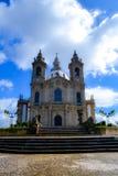 Schongebiet Sameiro in Braga Stockfotografie