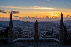 Schongebiet von Bom Jesus tun Monte de Braga Stockfoto