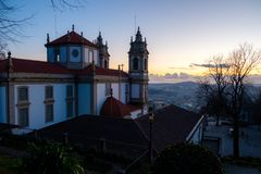 Schongebiet von Bom Jesus tun Monte de Braga Stockfotos