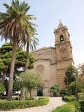 Schongebiet von Madonna von Trapani, Sizilien, Italien Lizenzfreie Stockfotos