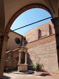 Schongebiet von St. Catherine, Siena, Italien Stockfoto
