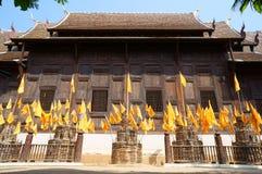 Schongebiet von Tempel Phan Tao Stockbild