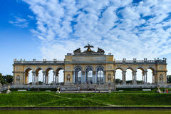 Schonnbrunn Palace. View from Gloriette alley. Wienn, Austria, summer Stock Photo