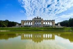 Schonnbrunn Palace. View from Gloriette alley. Wienn, Austria, summer Royalty Free Stock Photos