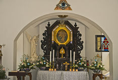 Schonstatt教堂, Hatillo,波多黎各 库存图片