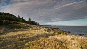 Schoodic Point, Maine Stock Photography