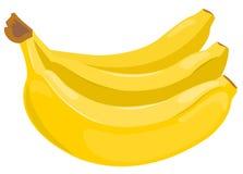 Schoof van bananen. Stock Afbeelding