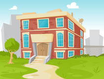 School vector illustration
