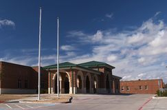 School. Places in Texas - School in Mansfield Stock Images