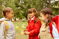 After school Royalty Free Stock Photo