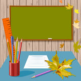 School. Accessories. Back to  vector Royalty Free Stock Image