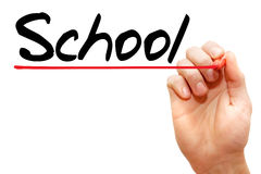 school Stock Foto