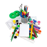 School Accessories Stock Photo
