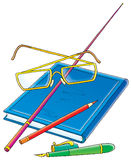School accessories Royalty Free Stock Photo