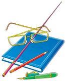 School accessories Royalty Free Stock Photo