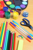 School accessories Royalty Free Stock Image