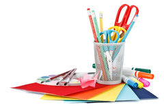 School accessories Royalty Free Stock Photos