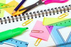 School accessories Royalty Free Stock Photography
